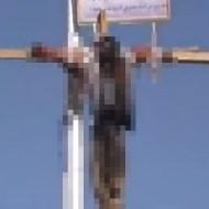 【グロ動画】中東の暑い国でハリツケの晒し死体したらどうなるかISISが実践してくれました。。 閲覧注意