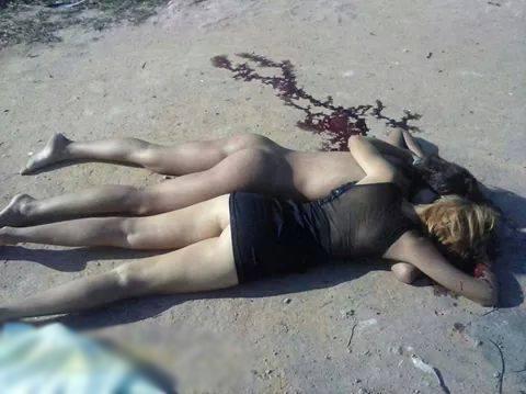 【JK 死体】美少女姉妹が浜辺でレ●プされてから殺され 挙句の果てに締まりの良いパイパンマ●コを晒されるwww