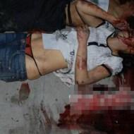 【グロ画像】暴行死した女の子の赤紐パン見えてるんだがこれ絶対誰か脱がしたやろ・・・