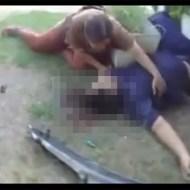 【グロ動画】事故で脳みそが垂れて死んでる息子・・・それを見た母親が・・・