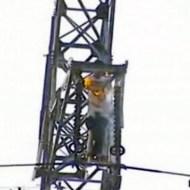 【閲覧注意】高圧電流からの飛び降り自殺が流行ってるみたい・・・