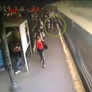 【閲覧注意】電車が来ます、白線の内側にお下がりくださいを破った結果