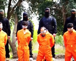 【ISIS】イスラム国が追加で4人を射殺・・・※閲覧注意