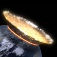 【地球崩壊】もしも直系400kmの隕石が地球に激突したら・・・