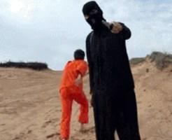 【※朗報※】ISIS(イスラム国)処刑現場で逃げられる。(画像あり)