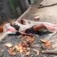 【閲覧注意】2歳から13歳の女の子5人をレイプした男が住人からリンチされ焼かれる