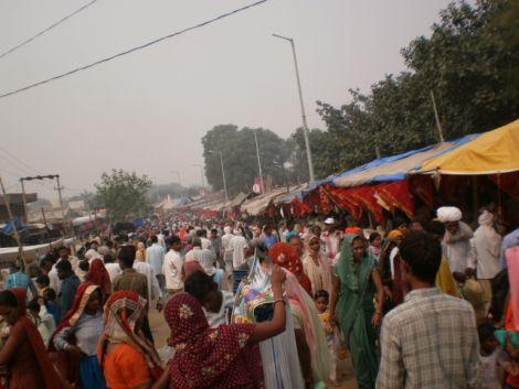 Market Near Baba Mohan Ram Temple