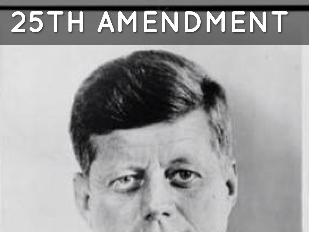 25th amendment 2