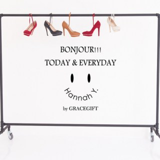 [穿搭]BONJOUR!!!決定好今天要穿哪一雙鞋子出門了嗎??!!
