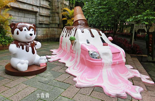 【泰迪熊經典博覽會/南投】九族文化村.泰迪熊纜車遊日月潭