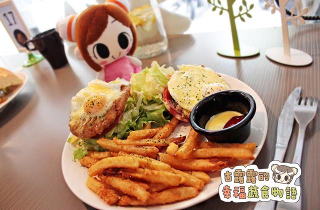【新北】就算排隊也要吃!瞇瞇眼美式蔬食餐廳