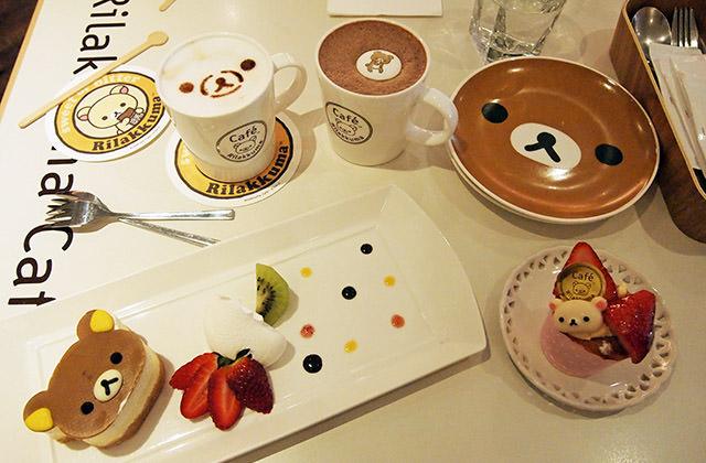 [台北] Rilakkuma Cafe 拉拉熊咖啡廳|賣萌裝可愛 超夯主題餐廳