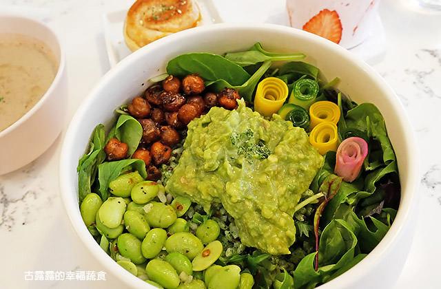 [台北] 小小樹食|餐桌上的蔬食藝術 夢幻果昔必打卡!