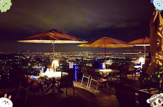 [台北] 陽明山景觀餐廳 屋頂上|浪漫無敵夜景 ZEST CAFE'甜橙風味
