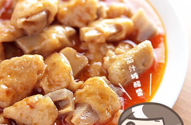 露露廚房奮鬥記 ▌糖醋素排骨 + 自製麵筋
