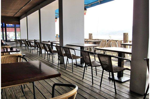 【台北】觀海餐廳〔海灣咖啡館〕與夕陽夜景共度悠閒用餐時光(葷素