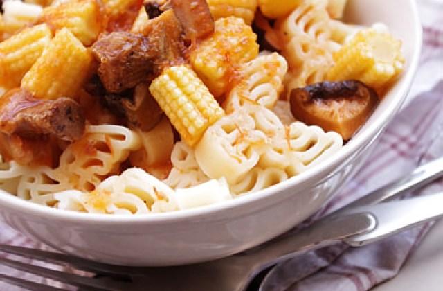 【烹飪實驗室】快速料理.麋鹿茄汁義大利麵