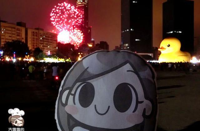 【展覽】高雄光榮碼頭「黃色小鴨」,沿路玩不停!
