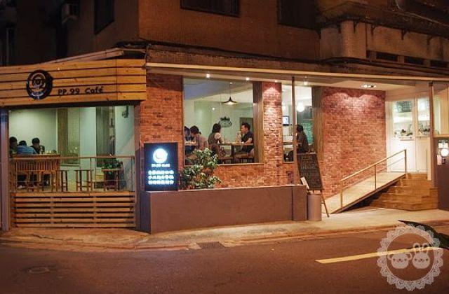 [台北] 品品99 咖啡輕食|蔬食咖啡店 養生速食風 (2015/07補照