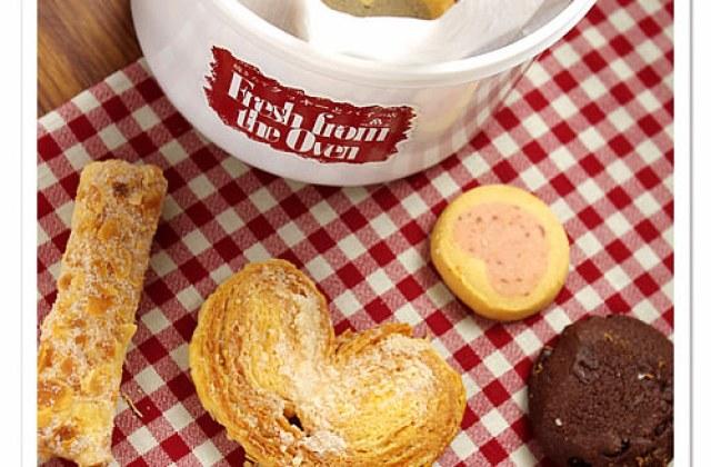 【午茶點】美味餅乾~摩洛索夫 silver mitten 手工烤餅桶 ♥