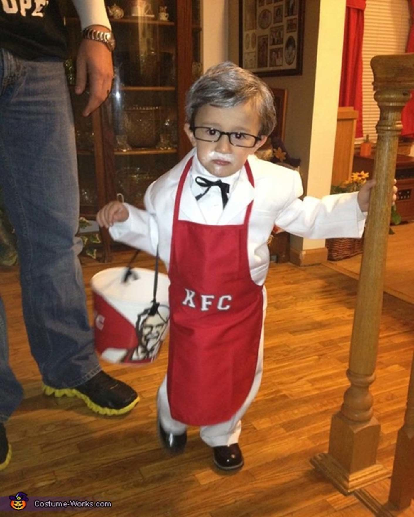 Neat Kids Colonel Costume Works Halloween Costumes Glasses Huffpost Life Colonel Sanders Costume Australia Colonel Sanders Costume Canada nice food Colonel Sanders Costume