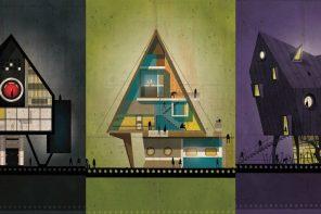[藝廊] 全能住宅大改造!義大利建築師結合導演風格特色設計概念藝術圖