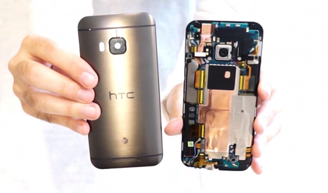 Desmontagem do HTC One M9 mostra como será difícil arrumar a tela [vídeo]