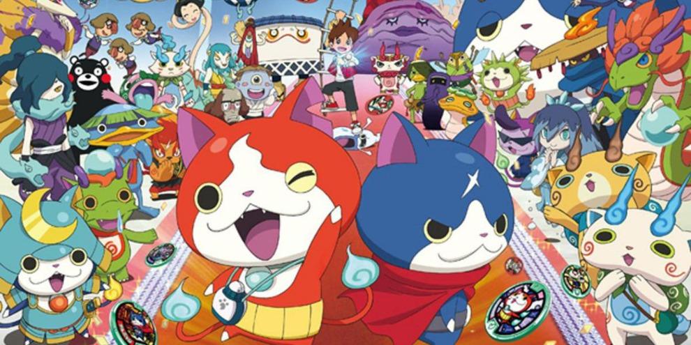 Yo-Kai Watch já ultrapassou 7 milhões de cópias vendidas em menos de 2 anos