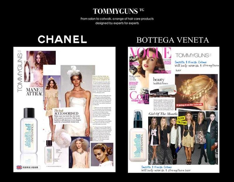 Chanel & BV  show