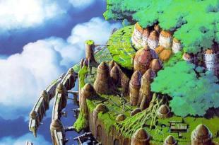 很多時候答案是需要歲月給你的,就不用費盡心力的追求,等待某一天自然會明白的- 宮崎駿的夢想之城