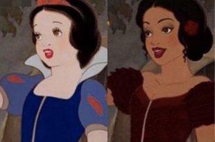「一白遮三醜?」這個插畫家告訴你「黑」雪公主超正,但灰姑娘是被惡搞了吧 – 動漫的故事