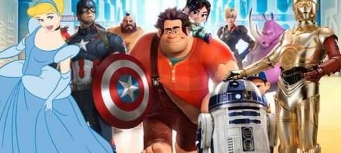 《無敵破壞王2》即將上映,迪士尼找了一大堆角色來客串,你認得出來他們嗎? - 動漫的故事