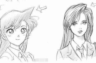 《名偵探柯南》小蘭的長角髮型竟是以這位日本知名女星為原型!-動漫的故事