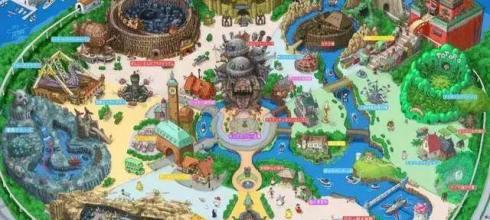 「宮崎駿主題公園」設計圖曝光!估計落成後人氣不輸迪士尼樂園-動漫的故事