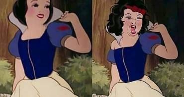 崩壞了!迪士尼公主的現實生活跟你想像的不一樣,《美人魚》的臉讓人不忍直視... - 我們用電影寫日記