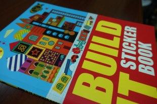 [同大爺貼紙書] 用貼紙堆房子 Build It: Sticker Book  發揮想像力與創造力