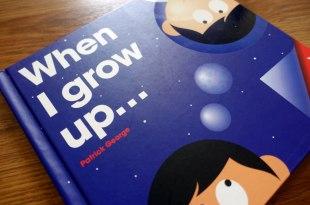 當我長大|英國Patrick George透明膠片書When I grow up