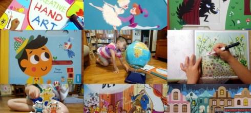 [導讀]10月書單:音樂音效書,硬頁書,美術書, 貼紙書,遊戲書盒