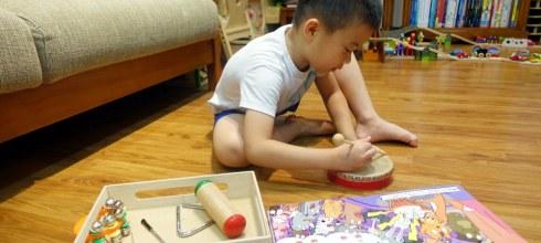 四件樂器,陪孩子玩音樂遊戲 引導孩子「控制力道」與「穩定專注力」