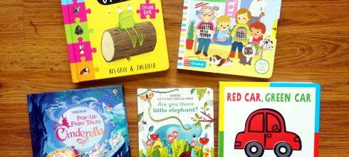 [親子共讀]適合1-3歲以上的硬頁書們 久違的Oi Frog! 四方格拼圖書