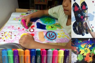 [同大爺私物] 小小孩的第1套美術用品|英國Little Brian可洗式無毒兒童專用水彩棒(更新)