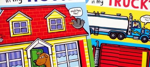 硬頁書單-小孩界耐操王|What's in my House翻翻找找書+Poor Little Rabbit