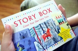 引導想像邏輯及表達力 Story Box故事盒,讓孩子自己拼出N種童話故事