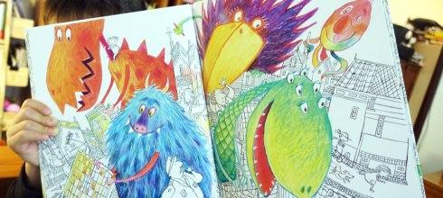 全新的嘗試|第一次共讀「無字書」|Monster Book培養孩子的觀察力與想像力