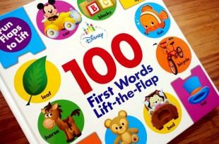 100個迪士尼翻翻小機關|Disney Baby 100 First Words|還有3合一遊戲盒