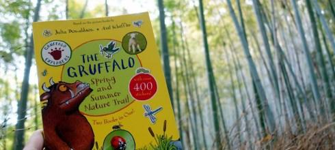 我們在京都・天氣晴|The Gruffalo Spring and Summer Nature Trail自然圖鑑貼紙書,好有趣
