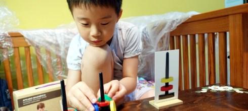 小孩說好酷的科學教具|西班牙akros|會漂浮的磁鐵疊疊樂