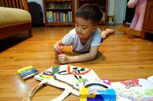 小小孩的美術用品|英國Little Brian「布」水彩棒及無毒水擦粉筆|畫出喜歡的小物
