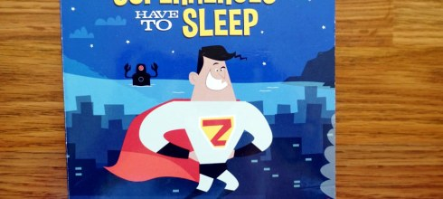 這本媽媽很需要  壞掉的唱片機理論,Even Superheroes Have to Sleep