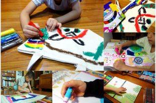 [現貨新品團] 小小孩的美術用品|英國Little Brian布水彩棒及無毒水擦粉筆|有機顏料好安心